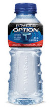 Darren Rovell's Gatorade blog: POWERade Option Black Cherry Review